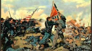Una imagen de una batalla en la Guerra de Secesión americana de 1861-65. Fuente: ABC.