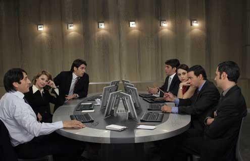 Escena de la película de 2005 El Método